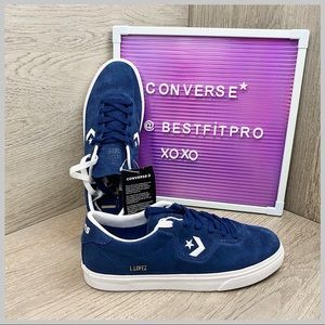🦋CONVERSE LOUIE LOPEZ PRO OX SHOES NAVY WHITE GUM